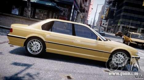 BMW 750i v1.5 pour GTA 4 est une gauche