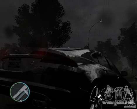 Jaguar XF-R für GTA 4 Rückansicht