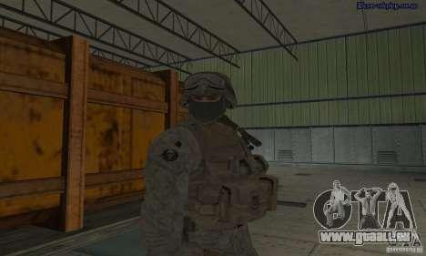 Peau Marine pour GTA San Andreas quatrième écran