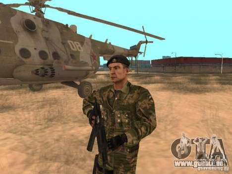 Commando soviétique pour GTA San Andreas