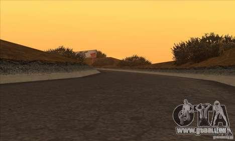 La route de NFS Prostreet pour GTA San Andreas cinquième écran