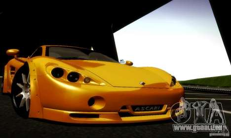 Ascari KZ1R Limited Edition für GTA San Andreas Seitenansicht