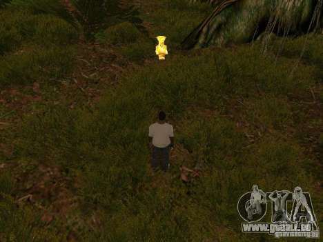 Tropische Insel für GTA San Andreas sechsten Screenshot