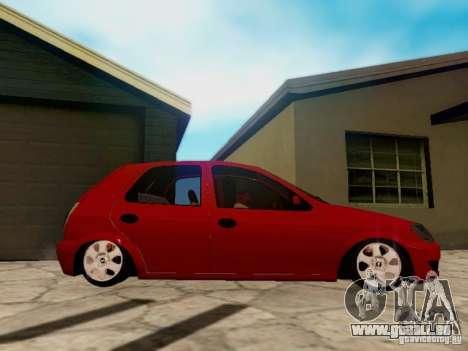 Chevrolet Celta 1.0 VHC für GTA San Andreas Rückansicht