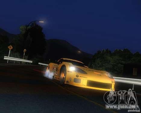 Chevrolet Corvette Drift für GTA San Andreas