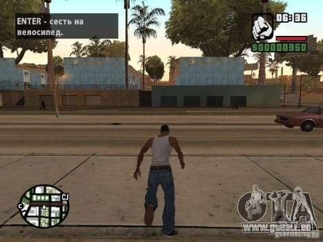 PARKoUR pour GTA San Andreas deuxième écran