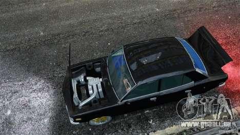 Mazda RX3 pour GTA 4 est une vue de l'intérieur