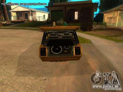 VAZ 2104 tuning für GTA San Andreas Rückansicht