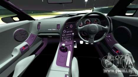 Toyota Supra Top Secret für GTA 4 Rückansicht