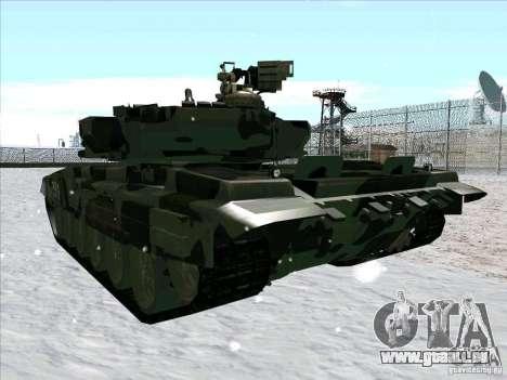 T-90 de Battlefield 3 pour GTA San Andreas vue de côté