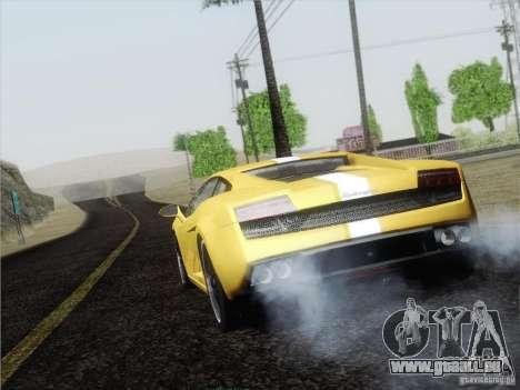 Lamborghini Gallardo LP640 Vallentino Balboni pour GTA San Andreas vue de droite