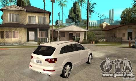 AUDI Q7 V12 V2 für GTA San Andreas rechten Ansicht