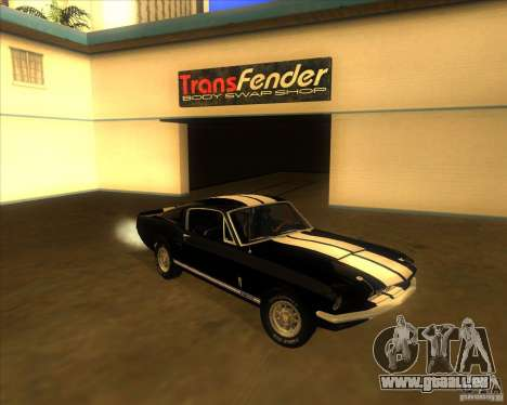 Shelby GT500 1967 pour GTA San Andreas