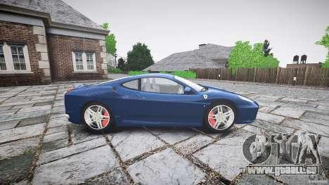 Ferrari F430 v1.1 2005 pour GTA 4 est une gauche