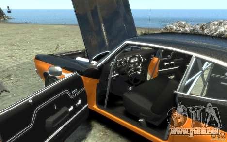 Chevrolet Chevelle SS 1970 für GTA 4 Innen