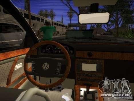 Volkswagen Phaeton W12 pour GTA San Andreas vue de droite