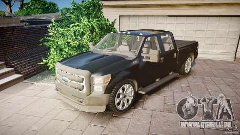 Ford F-350 Unmarked [ELS] pour GTA 4