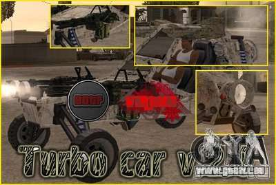 Turbo car v.2.0 für GTA San Andreas