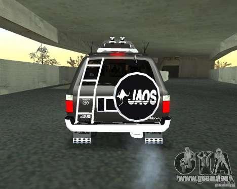 Toyota Surf v2.1 pour GTA San Andreas vue de côté