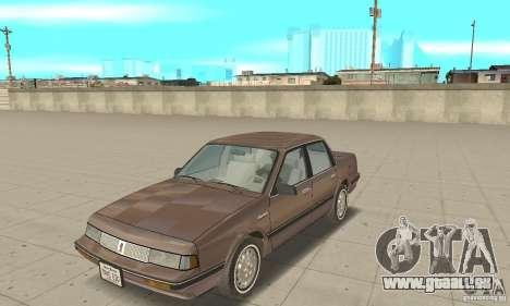 Oldsmobile Cutlass Ciera 1993 pour GTA San Andreas laissé vue