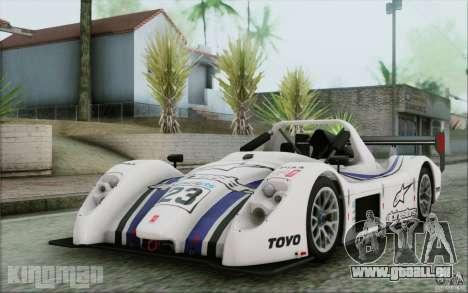 Radical SR3 RS 2009 pour GTA San Andreas vue de dessus
