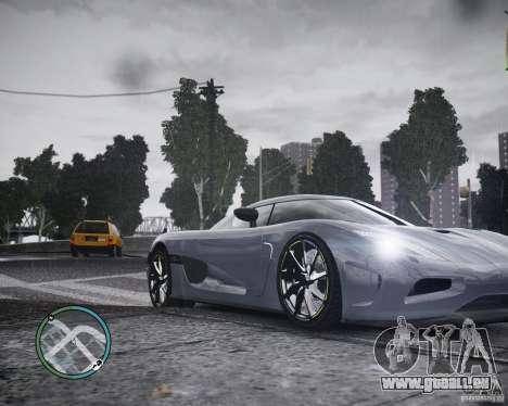 Koenigsegg Agera für GTA 4
