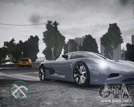 Koenigsegg Agera pour GTA 4