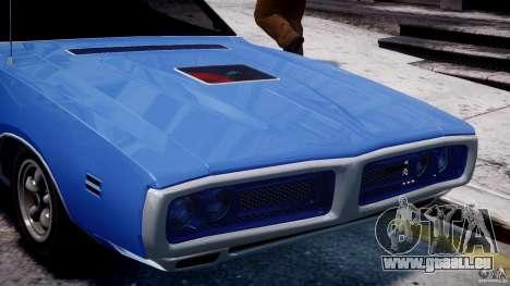 Dodge Charger RT 1971 v1.0 für GTA 4 Unteransicht