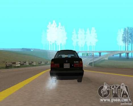 BMW 535i e34 pour GTA San Andreas vue de droite