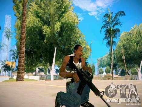 Armes Pack HD pour GTA San Andreas sixième écran