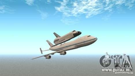 Boeing 747-100 Shuttle Carrier Aircraft pour GTA San Andreas
