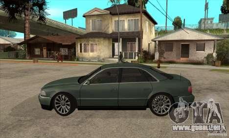 Audi A8 Long 6.0 2000 für GTA San Andreas linke Ansicht