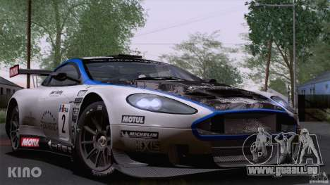 Aston Martin Racing DBRS9 GT3 für GTA San Andreas obere Ansicht
