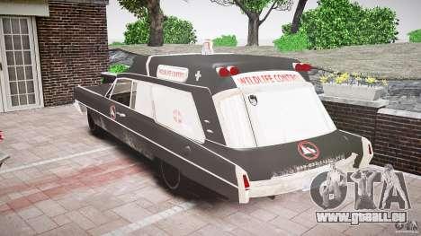 Cadillac Wildlife Control pour GTA 4 Vue arrière