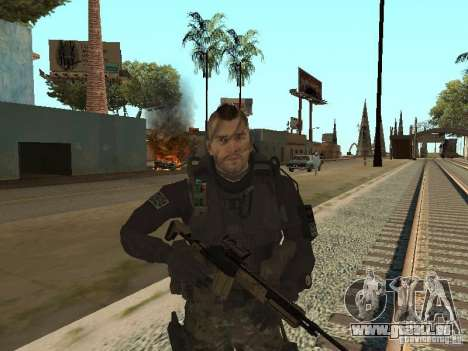 Captain MacTavish pour GTA San Andreas