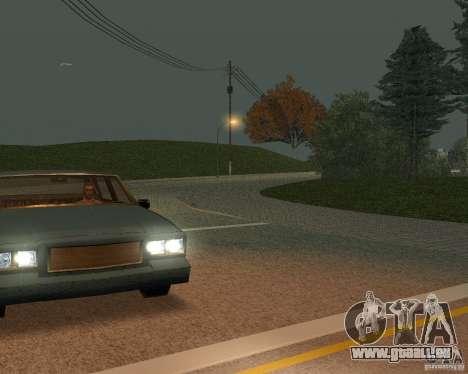Neue Straßen in San Fierro für GTA San Andreas sechsten Screenshot
