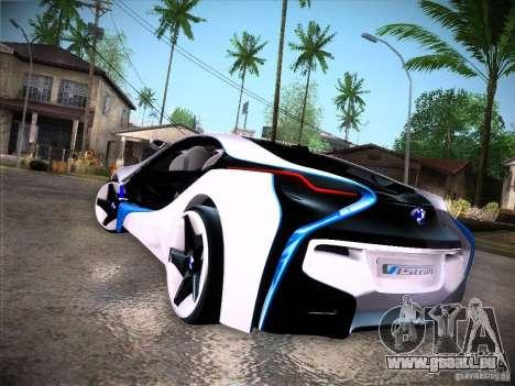 BMW Vision Efficient Dynamics I8 für GTA San Andreas rechten Ansicht