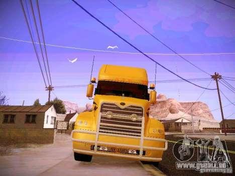 Mack Vision pour GTA San Andreas vue intérieure