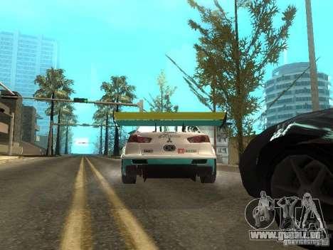 Mitsubishi Lancer Evo X Trailblazer Dirt2 für GTA San Andreas rechten Ansicht