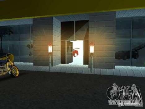 Nouveau showroom à San Fierro pour GTA San Andreas troisième écran
