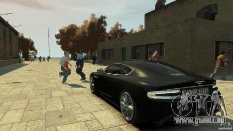 Aston Martin DBS Coupe v1.1f pour GTA 4 Vue arrière de la gauche