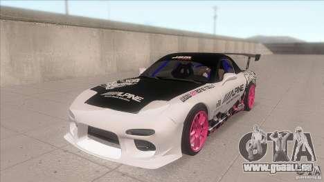 Mazda RX-7 FD K.Terej pour GTA San Andreas