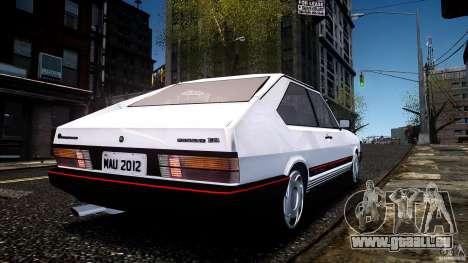 Volkswagen Passat Pointer GTS 1988 Turbo pour GTA 4 est une gauche