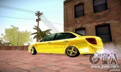 Lada Grant GOLD für GTA San Andreas linke Ansicht