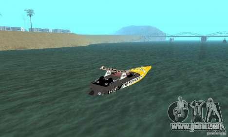 Cesa Offshore für GTA San Andreas linke Ansicht