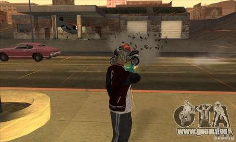 GraviPuška für GTA San Andreas her Screenshot