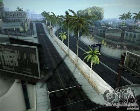 Nouvelles routes autour de San Andreas pour GTA San Andreas neuvième écran