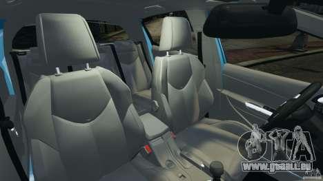 Peugeot 308 GTi 2011 v1.1 pour GTA 4 est une vue de l'intérieur