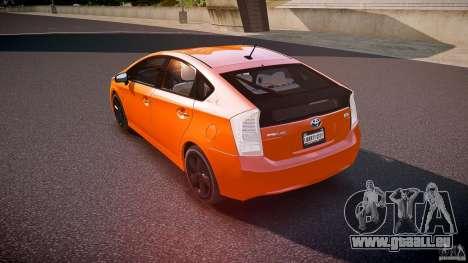 Toyota Prius 2011 pour GTA 4 Vue arrière de la gauche