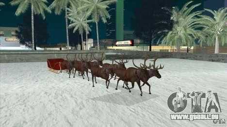 Ist Santa's team für GTA San Andreas Rückansicht